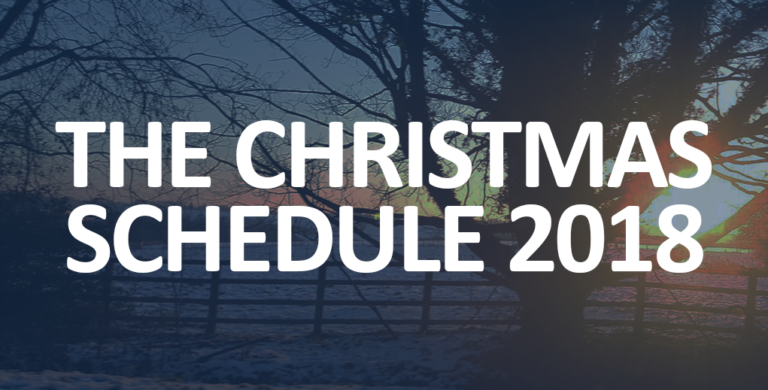 The Christmas Schedule 2018