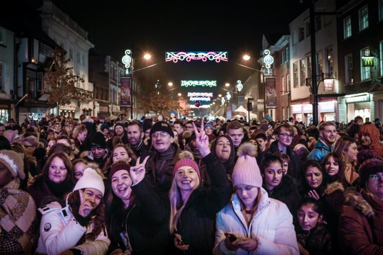 Wycombe Sound at the Christmas Light Festival 2019