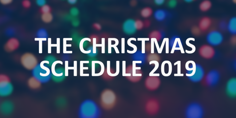 Wycombe Sound Christmas Schedule 2019