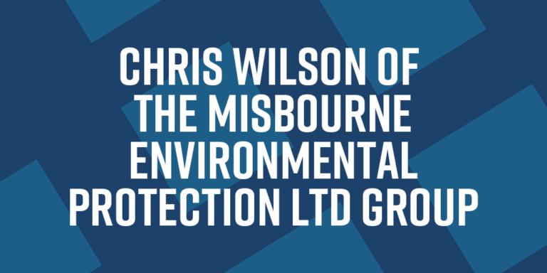 Chris Wilson of The Misbourne Environmental Protection Ltd Group